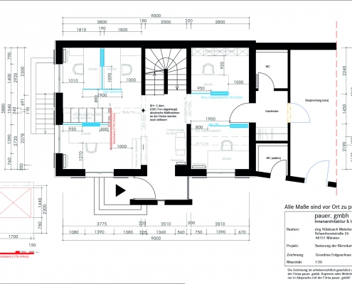 APM Projekt - Grundriss Entwurf
